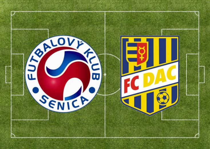 Fortuna Liga: FK Senica - FC DAC 1904 1:1 (Online)