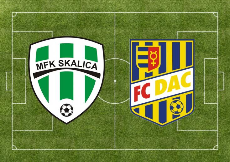 Fortuna Liga: MFK Skalica - FC DAC 1904 2:2 (Online)