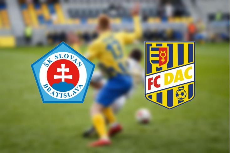 Fortuna Liga: Slovan Bratislava – FC DAC 1904 2:0 (Online)