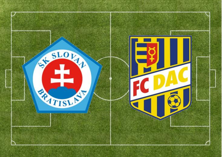Fortuna Liga: ŠK Slovan Bratislava – FC DAC 1904 1:1 (Online)