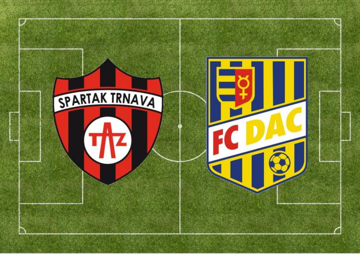 Fortuna Liga: Spartak Trnava - FC DAC 1904 2:1 (Online)