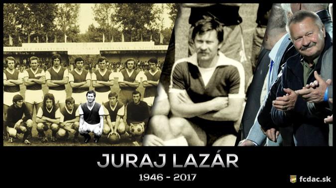Elhunyt Lazár György, a DAC egykori játékosa