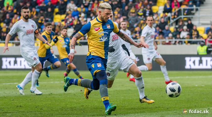 Négy DAC-játékos is bekerült a Fortuna Liga 14 legjobbja közé