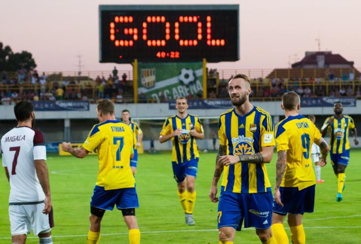 Fortuna Liga: FC DAC 1904 - ŽP Šport Podbrezová 5:1 - Szarka mesternégyest lőtt!