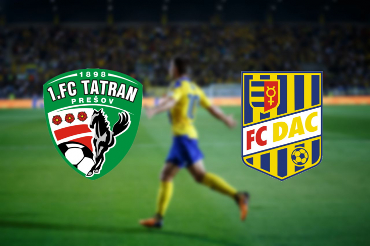 Fortuna Liga: Tatran Prešov – FC DAC 1904 0:0 (ÉLŐ)