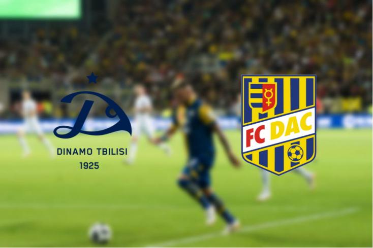 EL: Dinamo Tbiliszi – FC DAC 1904 1:2 - Bayo továbbfejelte a DAC-ot!