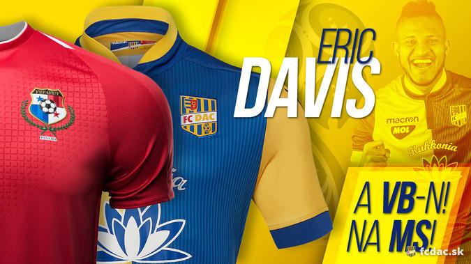 DAC: Eric Davis ott lesz az oroszországi foci vb-n