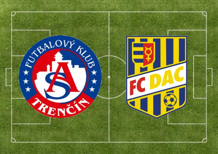 Fortuna Liga: AS Trenčín - FC DAC 1904 1:2 (Online)