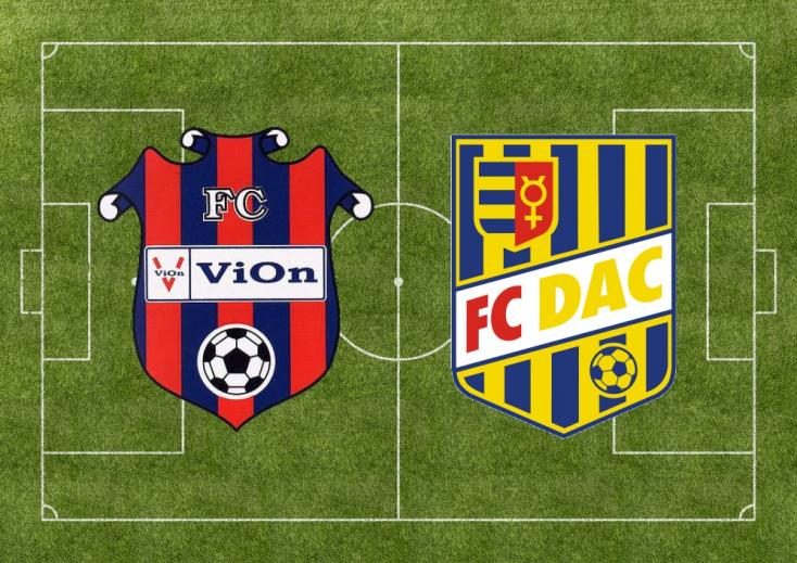 Fortuna Liga: ViOn Zlaté Moravce-Vráble – FC DAC 1904 1:1 (Online)
