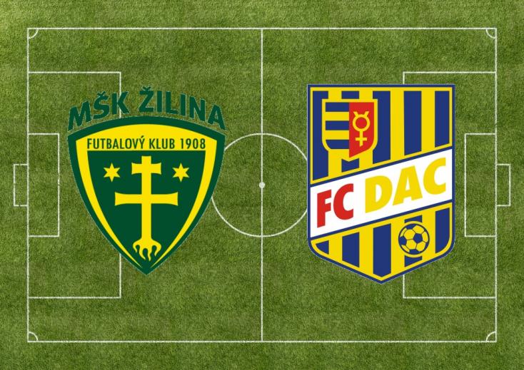 Fortuna Liga: MŠK Žilina - FC DAC 1904 2:2 (Online)